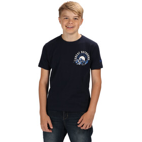 Regatta Bosley II T-Shirt Boys Navy/White